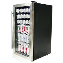 Whynter Stainless Steel Beverage Mini Refrigerator cooler Soda Beer Wine