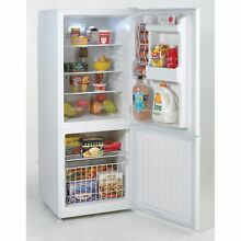 Avanti FFBM92HOW 9 2 Cu  Ft  Bottom Freezer Refrigerator   White