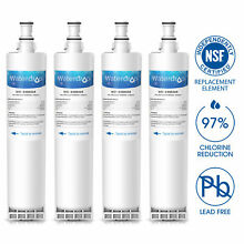 Fits Whirlpool 4396508 4396510 Kenmore 46 9010 Refrigerator Water Filter 4PACK