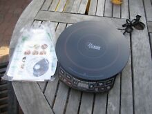 NEW PRECISION NUWAVE INDUCTION COOKTOP   Case  DVD   Recipes  30121 Black 1300W