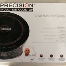Precision 12 in  Induction Cooktop by Hearthware Brand New in Box