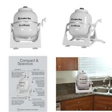 Portable Hand Cranked Manual Clothes Washing Machine For Camping Apartments