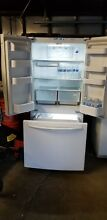 Samsung RF261BEAESR 25 5 cu  ft  French Door Refrigerator