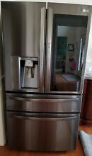 LG InstaView Door in Door 29 7 Cu Ft  4 Door French Door Refrigerator LMXS30796D