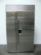 Sub Zero 690 S Side By Side Refrigerator   Freezer