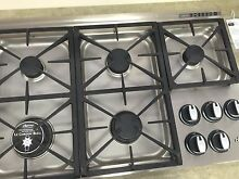I RGC365S Dacor 36  Cooktop  Stainless Steel  DISPLAY MODEL