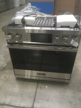 DOP36M94DLS  DACOR 36  Modernist DUAL FUEL RANGE  NEW OUT OF BOX