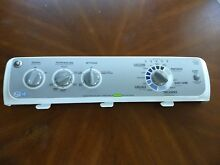 GE Washer Top Load   Control Console with Control Board with Knobs