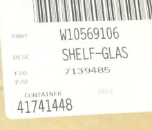 Whirlpool W10569106 Refrigerator Glass Shelf