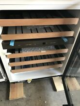 Sub Zero UW 24 S TH LH 24  Built In Undercounter Dual Zone Wine Cooler Stainless