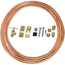 Everbilt 1 4 in  x 15 ft  Copper Icemaker Installation Kit Supply Lines Supply