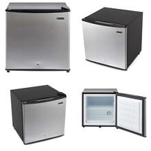 Upright Freezer Lock Included 1 1 Cu Ft Black Stainless Steel Small Cold Storage