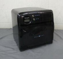 Sharp R 120DK Half Pint Carousel Compact Dorm RV Boat Microwave Oven Black GREAT