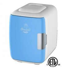 Small Fridge Mini Electric Cooler And Warmer Can 4 Liter Capacity USB Beach Trip