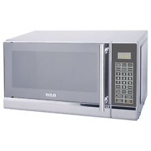 RCA 700 Watts 0 7 Cu Ft Stainless Design Microwave Oven Kitchen Countertop