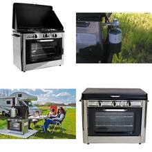 Camp Chef Bbq Kitchen Range Oven Stove Propane Gas 2 Burner Rack Camping Outdoor