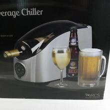 Cooper Cooler H01C Rapid Beverage Cooler Wine Beer Cans Fast Chill on Demand