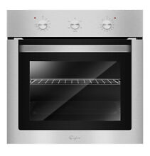 Empava 24  Stainless Steel Electric Built in Single Economy Wall Oven