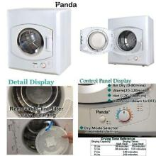 Panda Portable Compact Cloths Dryer Apartment Size 110v stainless Steel Drum