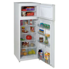 Dorm Refrigerator Apartment Top Freezer Fridge Adjustable Shelf Food Storage Set