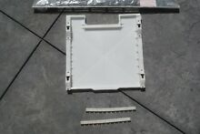 New General Electric Refrigerator Drain Pan  SSVented Toe Grille
