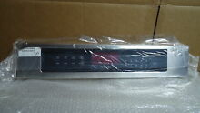 LG AGM73250002 Control Panel Display Stainless Steel For Wall Oven LWS3010ST