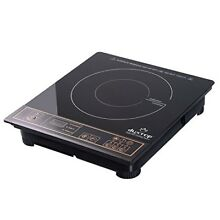 Induction Burner 1 Cooktop Portable Countertop Compact Electric Tabletop Kitchen