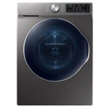 Samsung 2 2 Cu  Ft  Inox Grey Front Load Washer