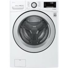 LG White Front Load Washer