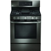 LG Black Stainless Steel Freestanding Gas Range