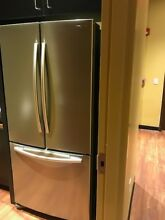 Samsung Refrigerator Stainless 33 inch Counter Depth French Door w  Ice maker