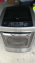 LG 7 3 cu  ft  Ultra Lg Capacity Dryer  w Front Control    SteamFresh Cycle