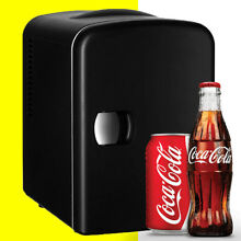 Black Mini Fridge Cooler   Freezer   Small   Compact refrigerator 4 Office Dorm