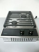 WOLF CG152TF S Built In 15  Transitional Gas Cooktop w  Dual Stacked Burners