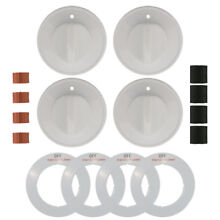 Range Kleen Universal Gas Stove Knobs   Accessories Replacement Kit  24 Pack
