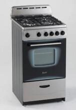 Avanti Model Gr2013css   20  Gas Range   Freestanding   20  Wide   Single Oven