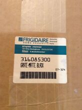 Lot of 2 Frigidaire 316085300 Burner Grates for Gas Range Stove NOS Matte Black