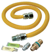 BRASS CRAFT SERVICE PARTS Safety PLUS Advantage Gas Dryer Installation Kit