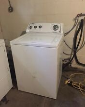 Whirlpool Washer And Dryer Set  2010 Model  Front Load Dryer Top Load Washer Use