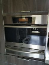 Miele steam oven and warming drawer