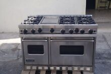 Viking 48  PRO Range Stove VGIC4856GSS Gas 6 Burners   Griddle Stainless Steel