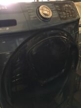 Samsung Front Load Electric Washer With Pedestal