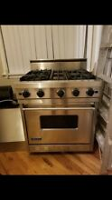 VIKING VGIC305 4BSS 30  Pro Gas Range Oven 4 Burner Stainless Steel