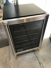 Viking Beverage Center   24in Wide  34in Tall  Mini Refrigeration Wine