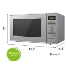 Panasonic Microwave Oven NN SD372S Stainless Steel Countertop With Inverter Tech