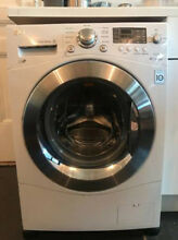 LG 24  White Compact Large Capacity Front Load Washer WM1377HW