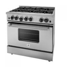 BlueStar 36  Stainless Steel Freestanding Gas Range