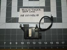 Genuine Bosch 00178618 Dryer Door Lock Used