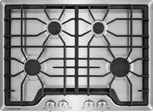 Frigidaire Gallery 30  Stainless Steel 4 Burner Gas Cooktop FGGC3045QS