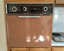 1962 Vintage GE Wall Oven  Range  and Vent Hood